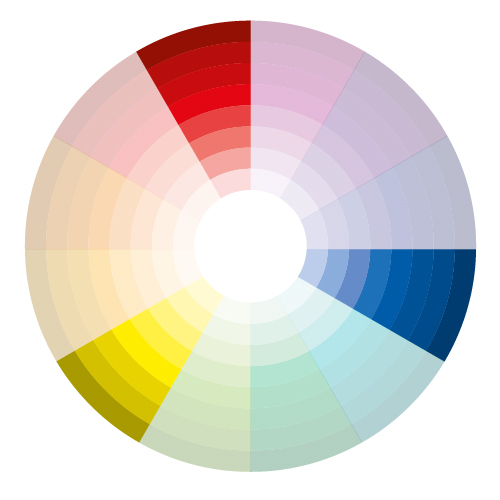 gallery for triadic colour scheme